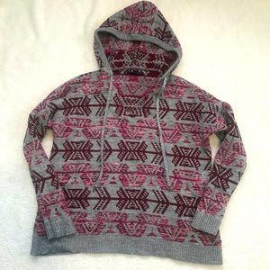 American Eagle Aztec Sweater Hoodie